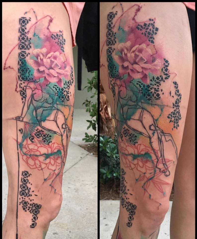 aquarell tattoo unterarm ber verblffende blumen tattoo ideena decoraue a best color with. Black Bedroom Furniture Sets. Home Design Ideas